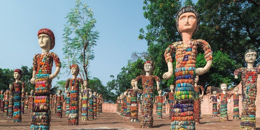 Chandigarh: Rock Garden